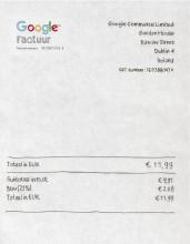 Kun je de BTW van Googlefacturen terugvragen als voorbelasting?